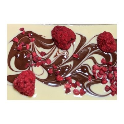 raspberry ripple chocolate bar