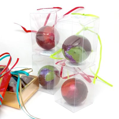 Handmade Christmas Chocolates - Chocolate Baubles