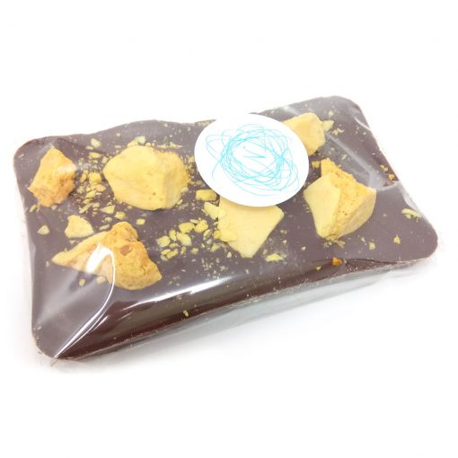 milk chocolate with cinder toffee