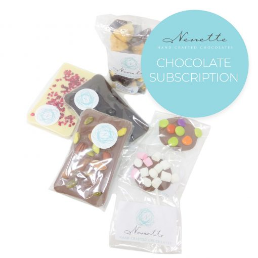 chocolate subscription service tuck box